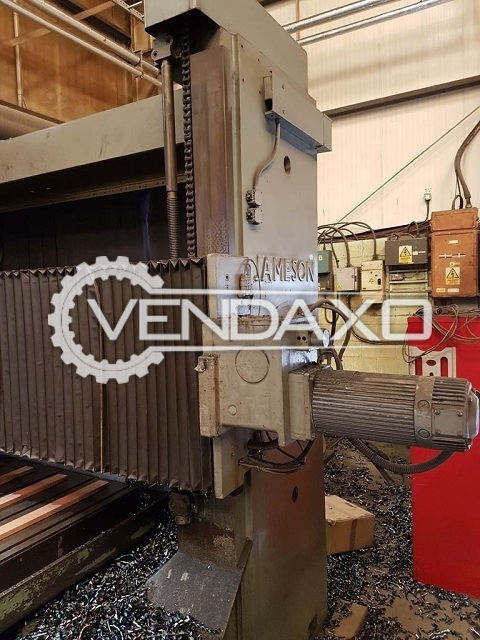 JAMESON CNC Vertical Machining Center - Table Size - 2134 x 3724 mm
