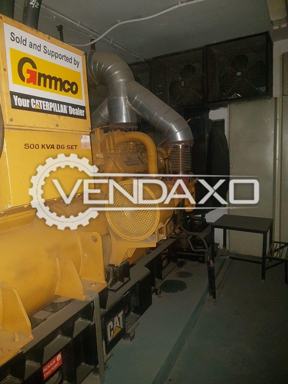 Caterpillar Diesel Generator - 500 Kva , 2007 Model