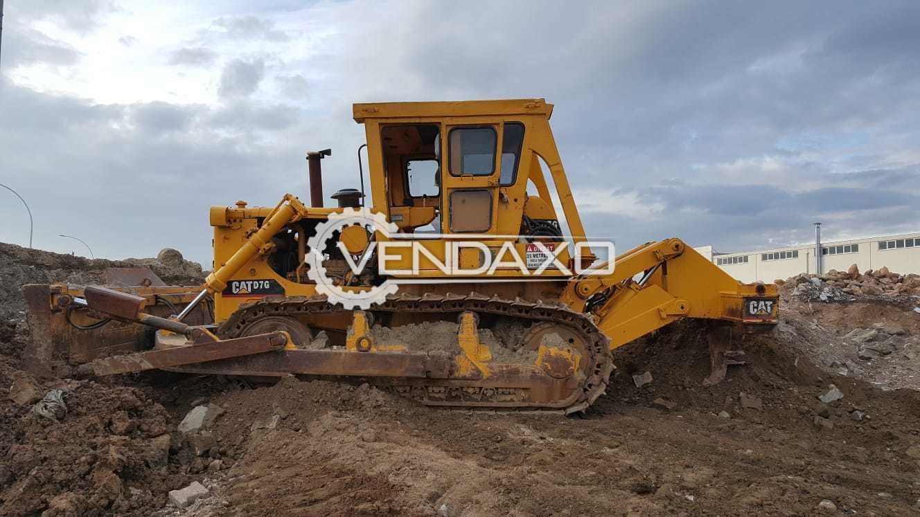 Caterpillar D7 G Excavators - Motor - 240 HP