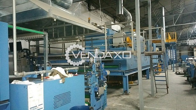 MiKwang Artificial Leather Coating Line - Working Width - 2 Meter
