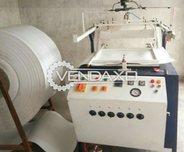 Semi Automatic Thermocol Dona Plate Making Machine - 7000 Dona Pieces in 1 hour
