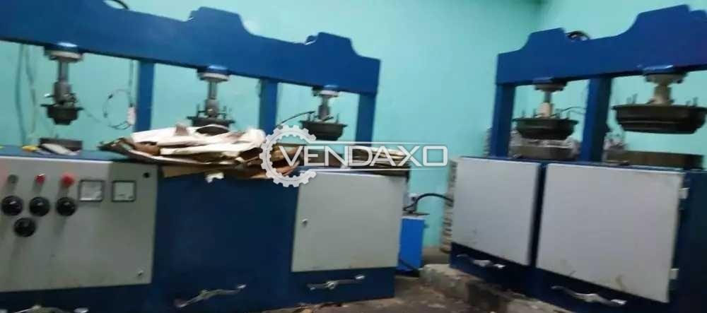 Areca Plate Making Machine - 2000 Plate Per Day
