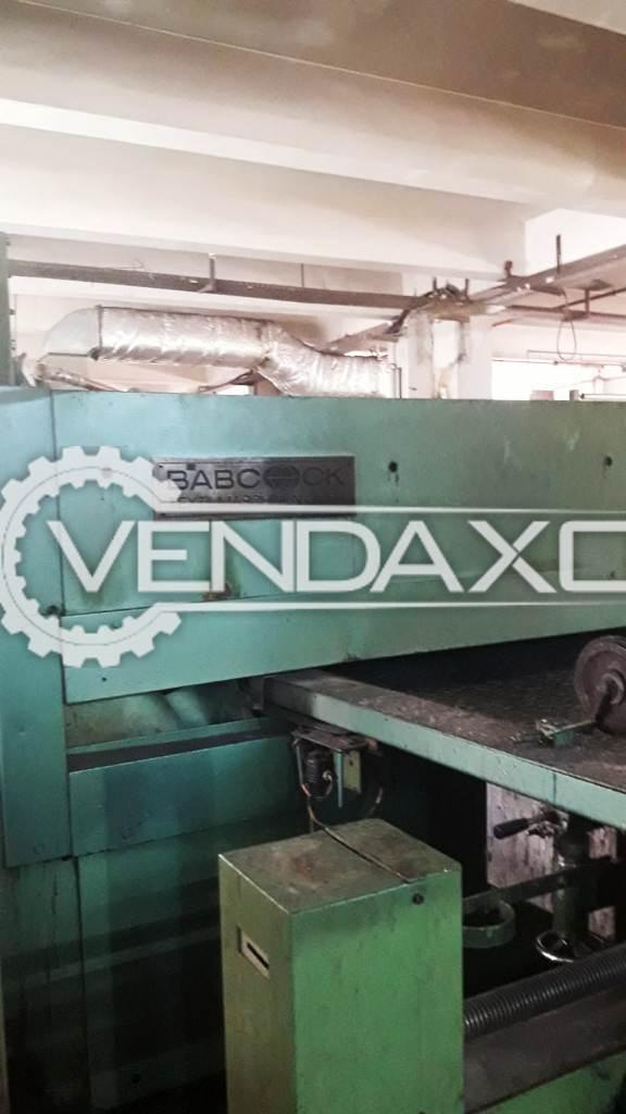 Babcock Stenter Machine - Working Width - 2.40 Meter