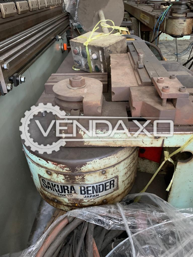 Sakura Mandrel Pipe Bending Machine - Diameter - 2 Inch