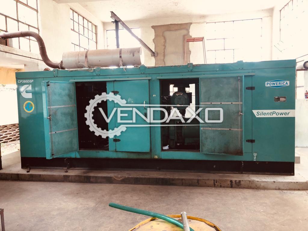 3 Set Of Cummins Powerica Diesel Generator - 380 Kva , 2011/2012 Model