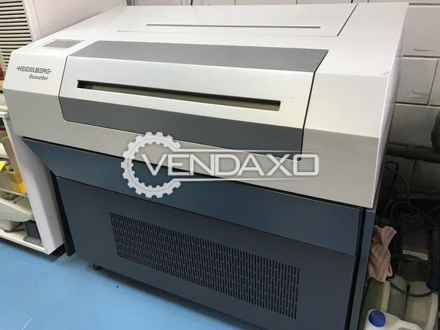 Heidelberg Duosetter Printing Machine - Size - 535 x 505 mm