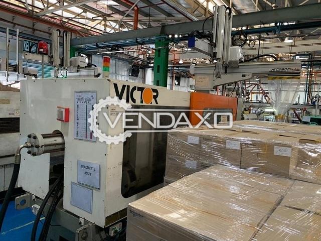 Victor VR-350 Injection Moulding Machine - 350 Ton, 1999 Model