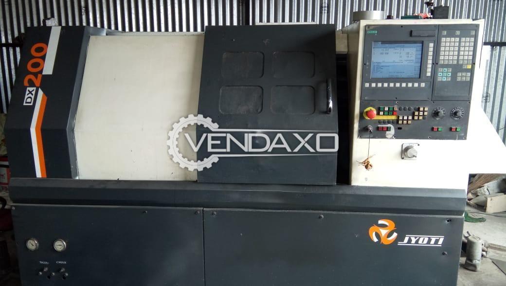 JYOTI DX-200 CNC Turning Center - Turning Diameter - 250 mm