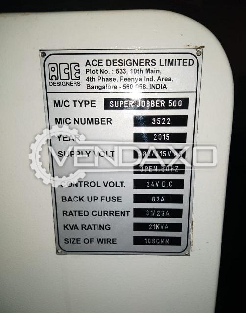 ACE Super Jobber 500 CNC Lathe Machine - Turning Length - 500 mm