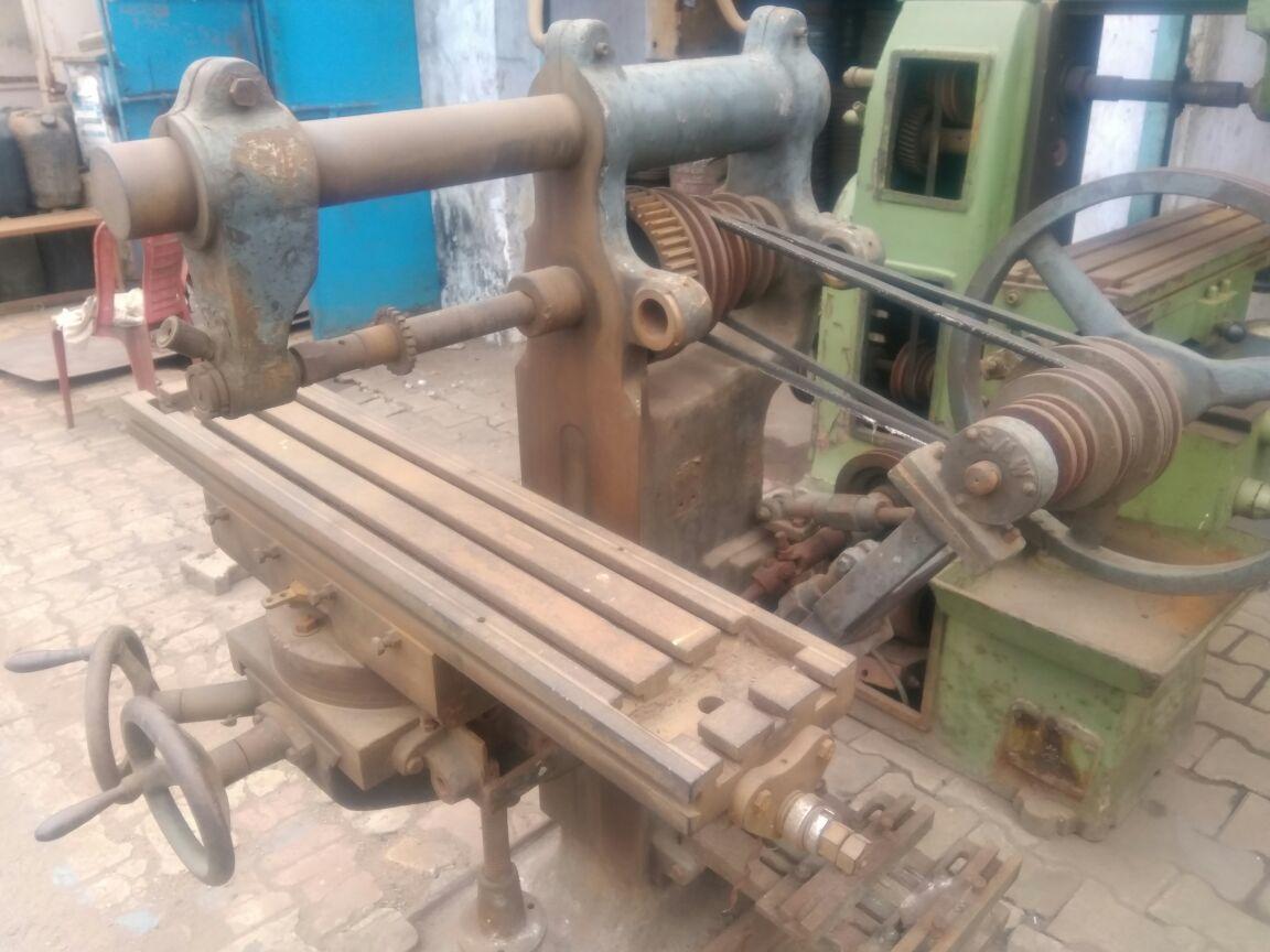Milling machine size 1 4