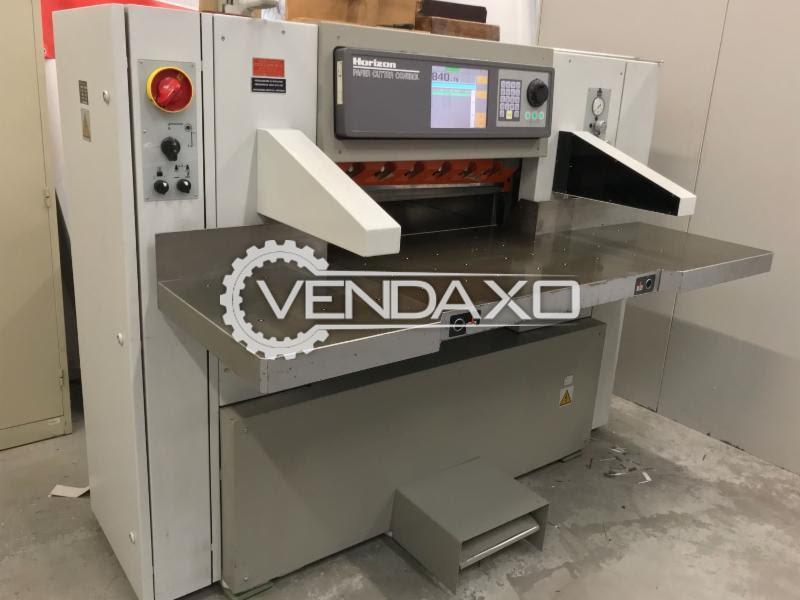 Horizon MS80B Paper Cutting Machine - Paper Height - 100 mm