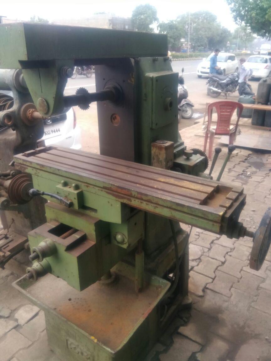 Milling machine size 2 3