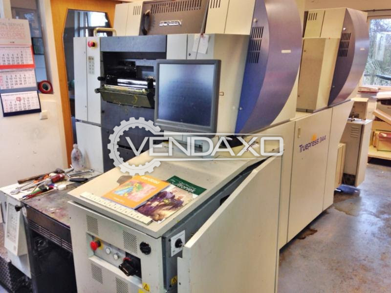 Screen TP 344N Digital Offset Printing Press - 4 Color