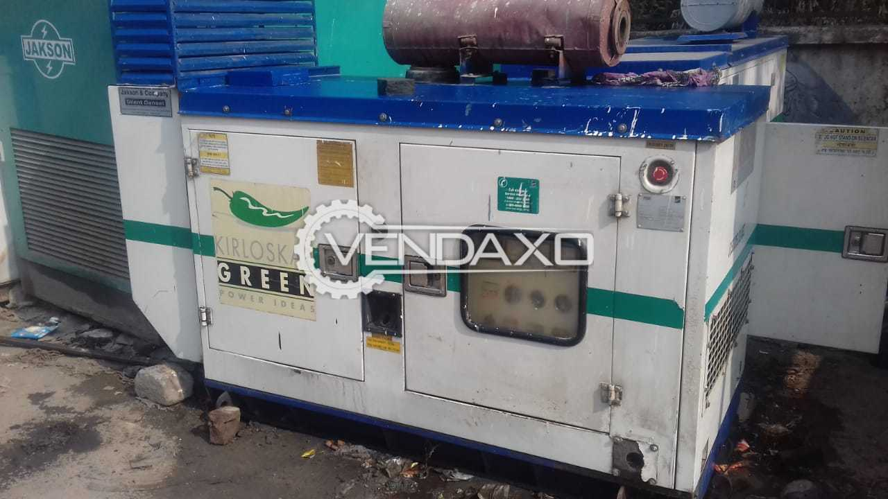 Used Kirloskar RB 33 Diesel Generator - 30 Kva , 2009 Model for Sale