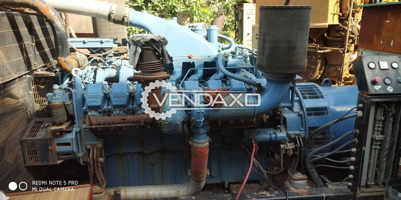 Used MTU Diesel Generator - 825 Kva, 2001 Model for Sale at