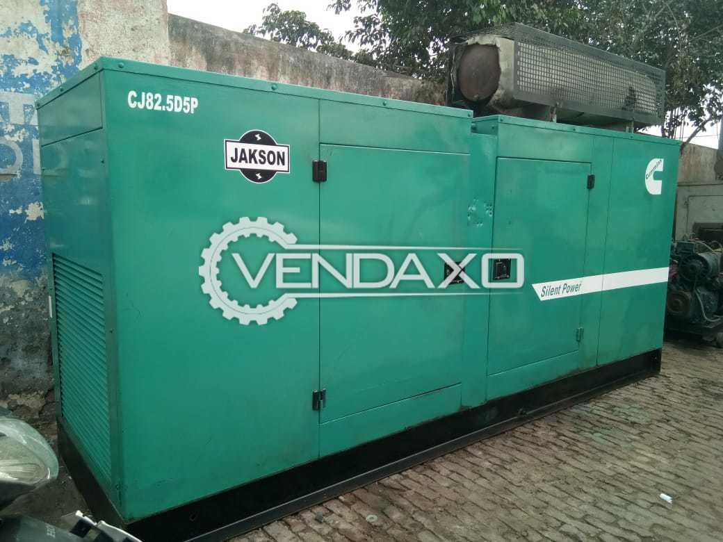 Cummins Diesel Generator - 82.5 Kva , 2007 Model