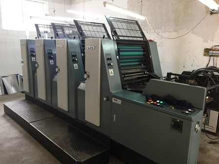 Hans Gronhi Printer Machine