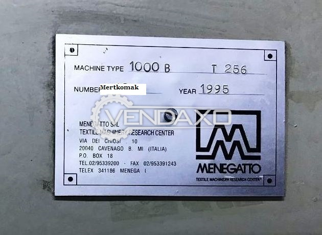 Used Menegatto Yarn Spinning Machine - 256 Spindle for Sale at Best