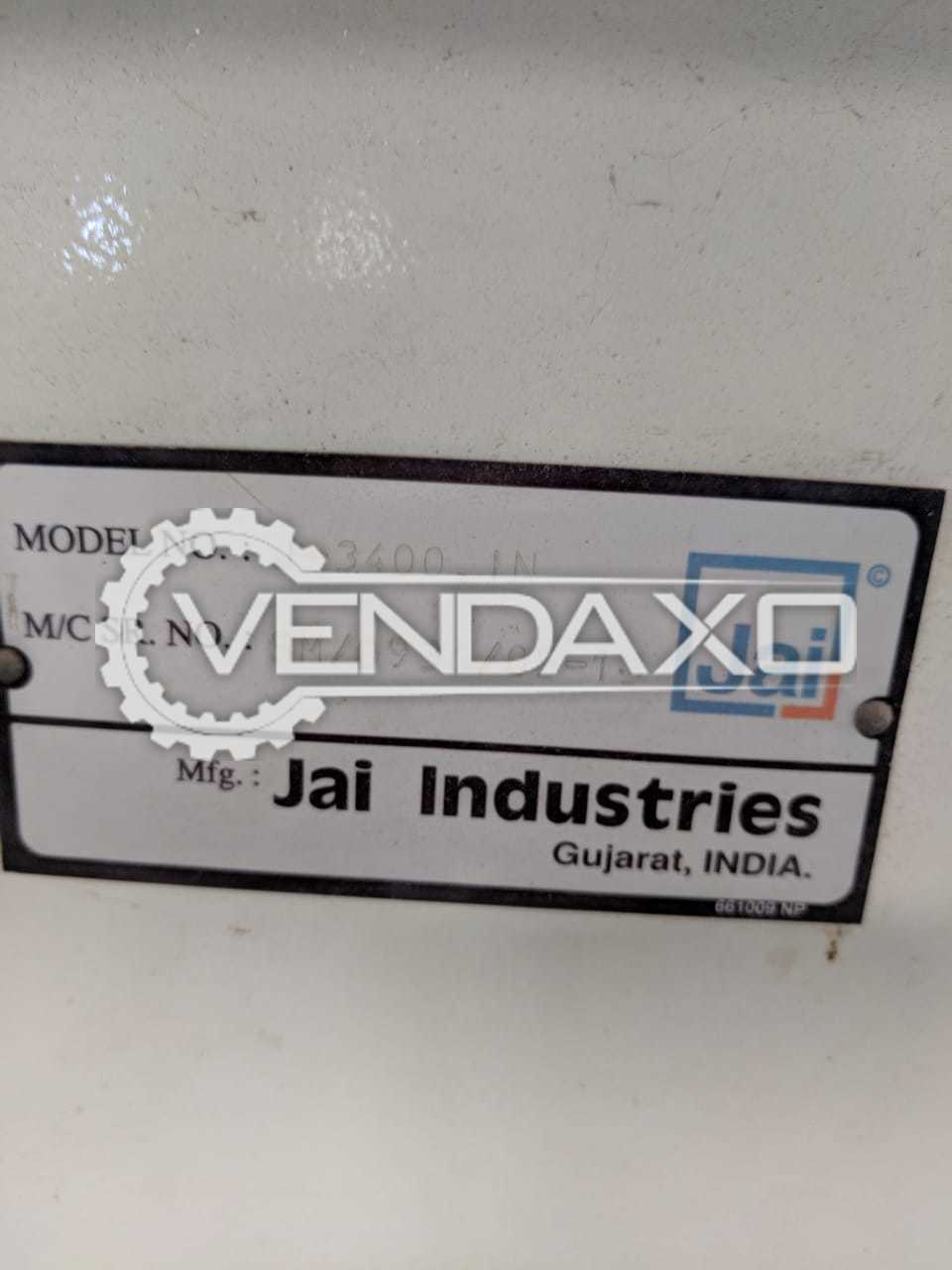 JAI J3400 IN Wood Spindle Moulder Machine - Motor Power - 5 HP