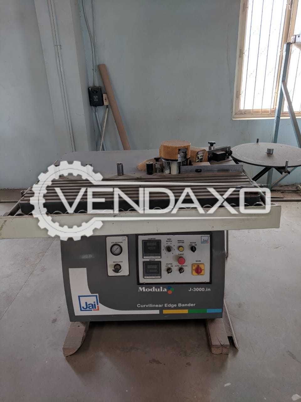 JAI J3000 Edge Bender Machine - 1150 x 920 mm