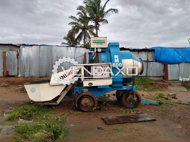 Available For Sale RM-800 Concrete Mixer - 800 Liter