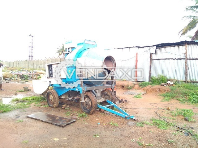 Used Available For Sale RM-800 Concrete Mixer - 800 Liter
