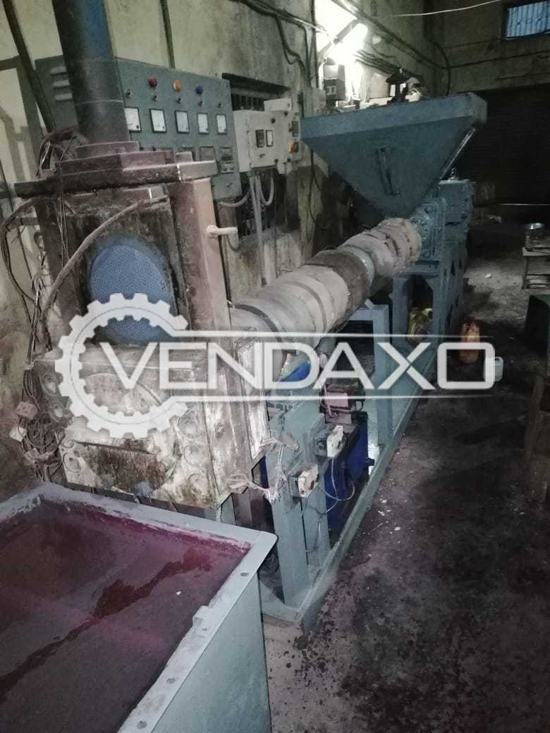 Plastic Recycling Granules (Dana) Making Machine - 150 to 200 Kg Per Hour