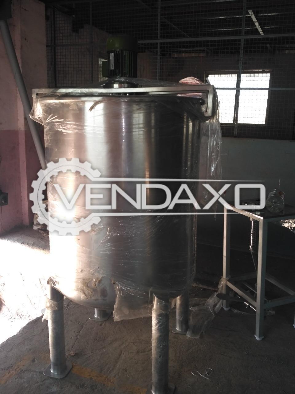 Aloe Vera Juice and Gel Machine - 500 Kg Per Hour