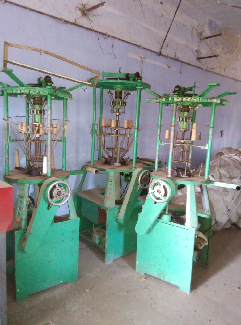 Sleeve Yarn Making Machine