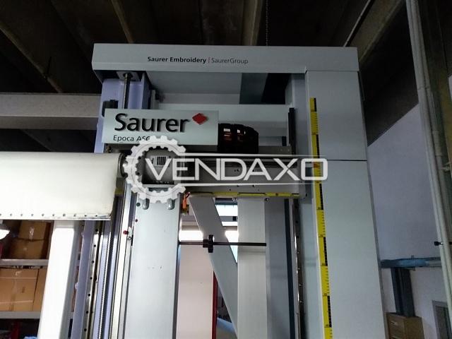 Saurer Epoca ASC Embroidery Machine - Frame Width - 1.25 Meter