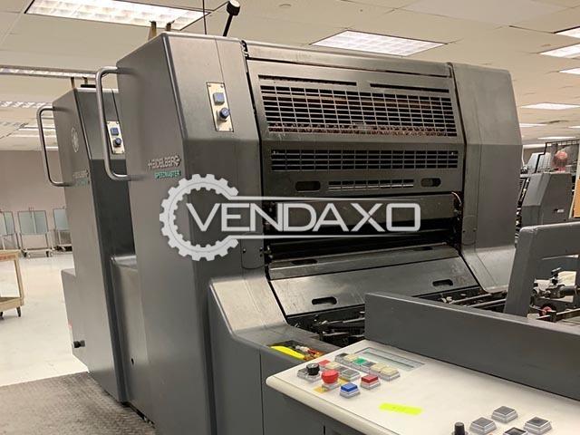 Heidelberg SM74-2P Offset Printing Machine - 2 Color