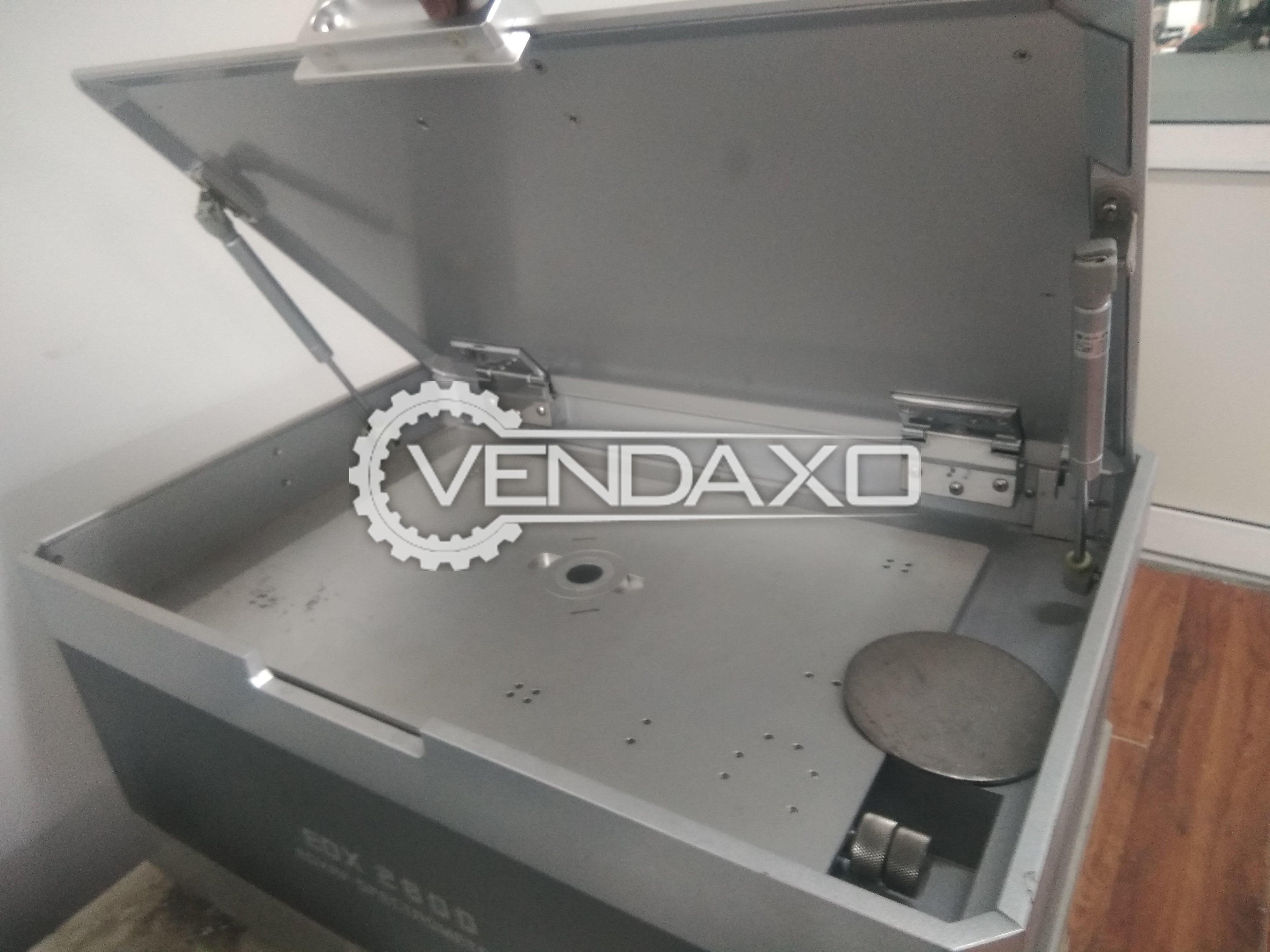 Redlands EDX 2800 XRF Spectrum Analyser Machine - 760 x 550 x 450 mm