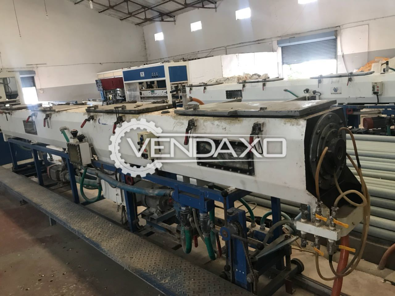 Windsor PVC Pipe Making Plant - 350 Ton, 2013 Model