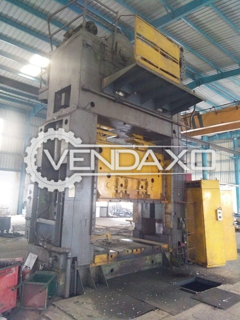 Used Available For Sale 4 Set Of Power Press - 800 to 1000