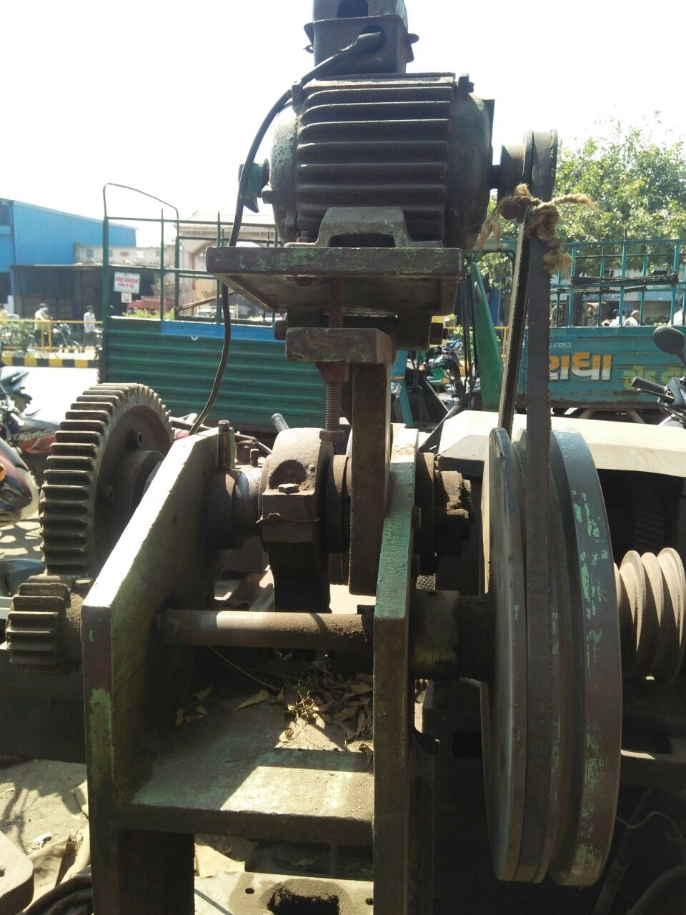 Powerpress Machine -10 ton