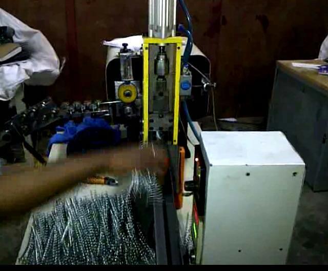 Metal spiral machine 45 4