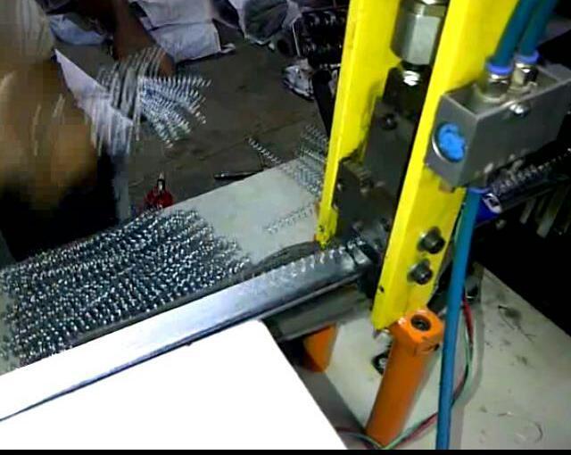 Metal spiral machine 45 3