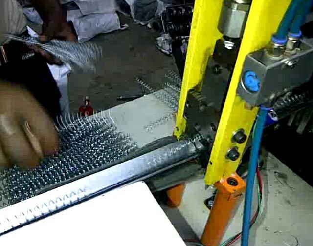 Metal spiral machine 45