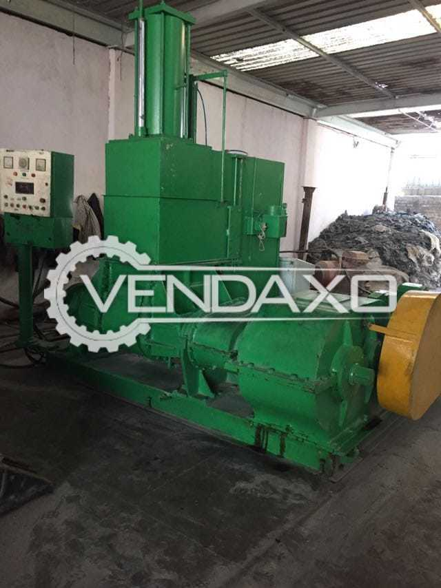 Available For Sale Vatsn Tecnic Dispersion Kneaders Rubber Machinery
