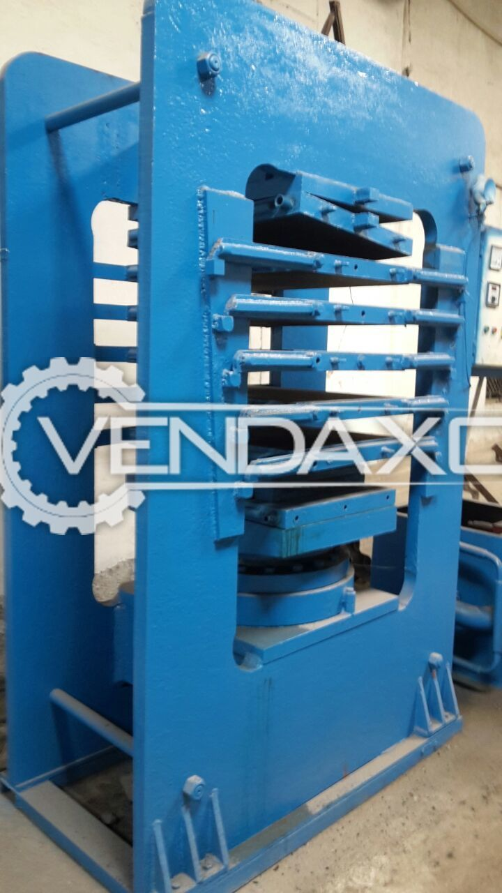Vatsn Tecnic Rubber Molding and Rubber Sheeting Hydraulic Press
