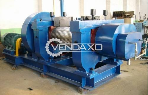 Vatsn Tecnic Rubber Cracker Mill Machine