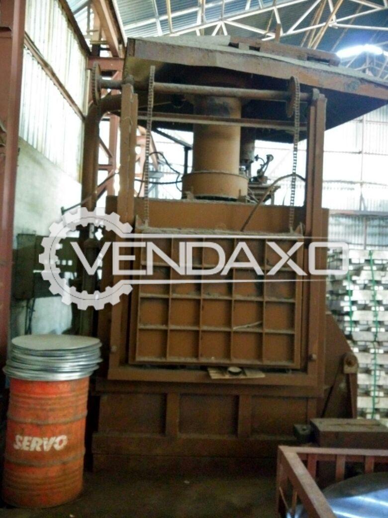 Hetpan Overseas Aluminium Recycling/Melting Tilting Furnace - 100 Ton
