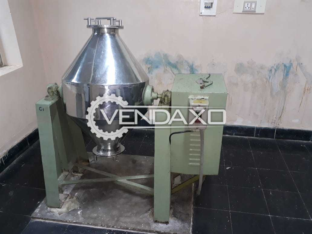 Double Cone Blender - 50 KG