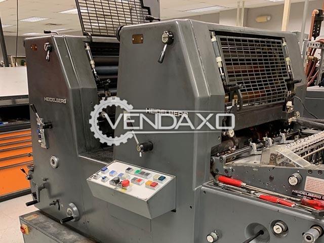 Heidelberg GTOZ-52 Offset Printing Machine - 2 Color