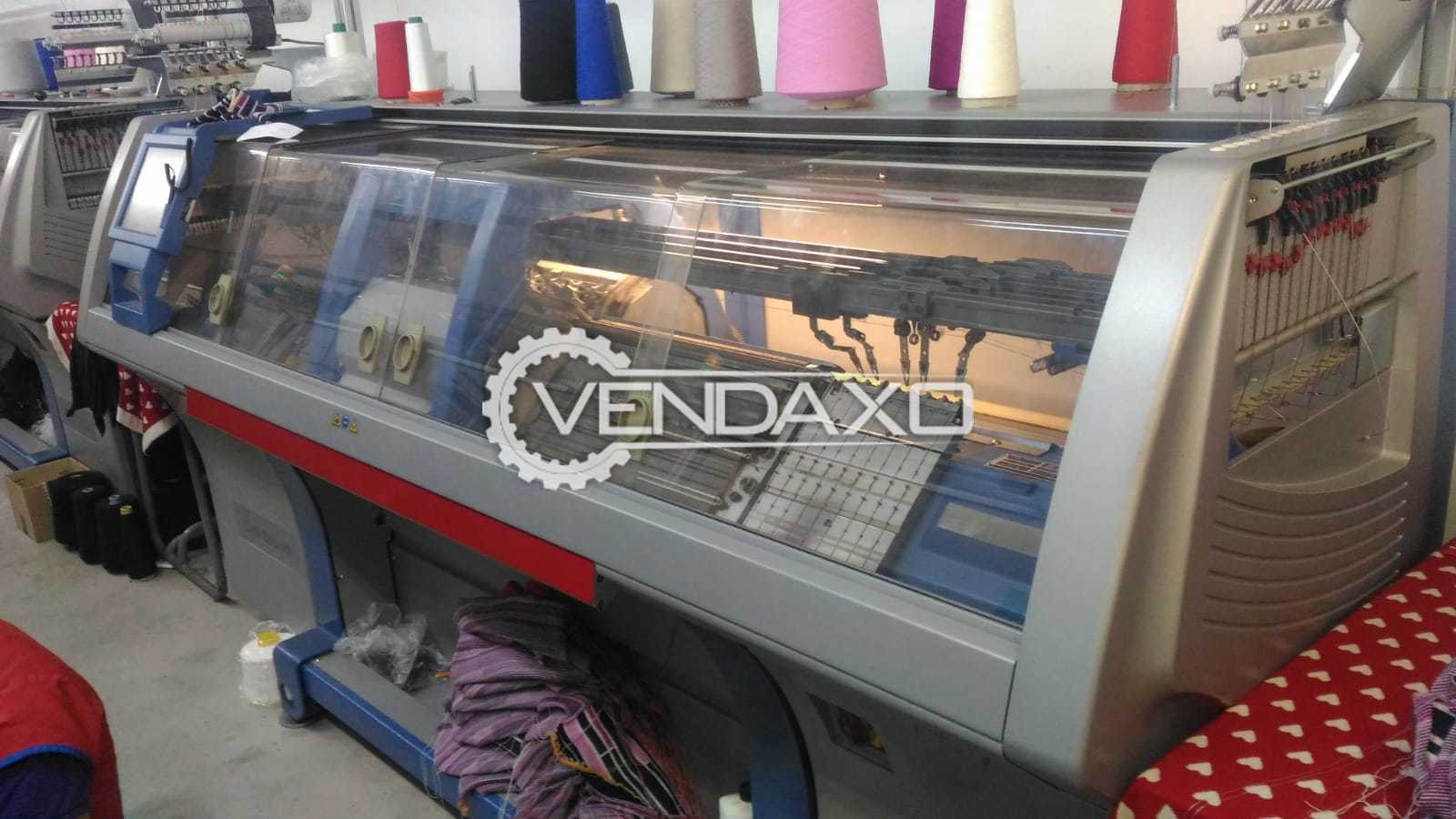 STOLL CMS-530 HP Flat Knitting Machine - Width - 1270 mm