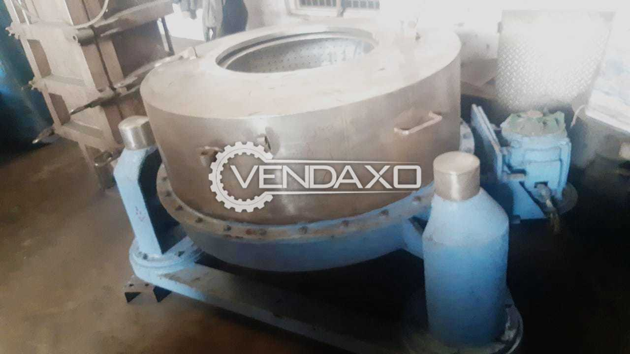 Jindal Hydro Extractor Machine - 40 Inch