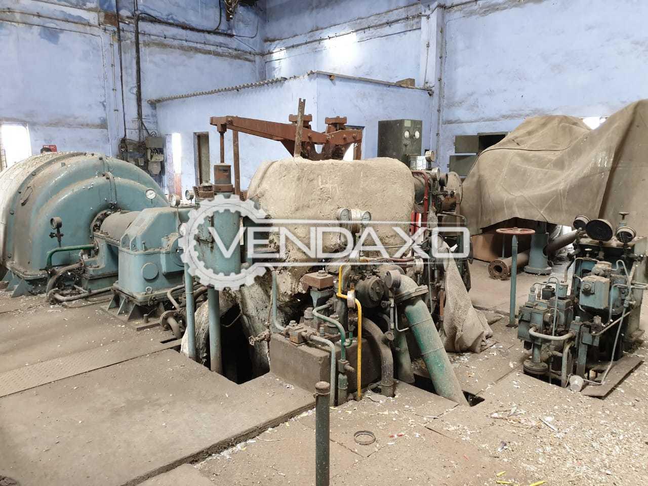 BHEL 5MW Gas Turbine Generator - 6250 Kva, 5000 KW
