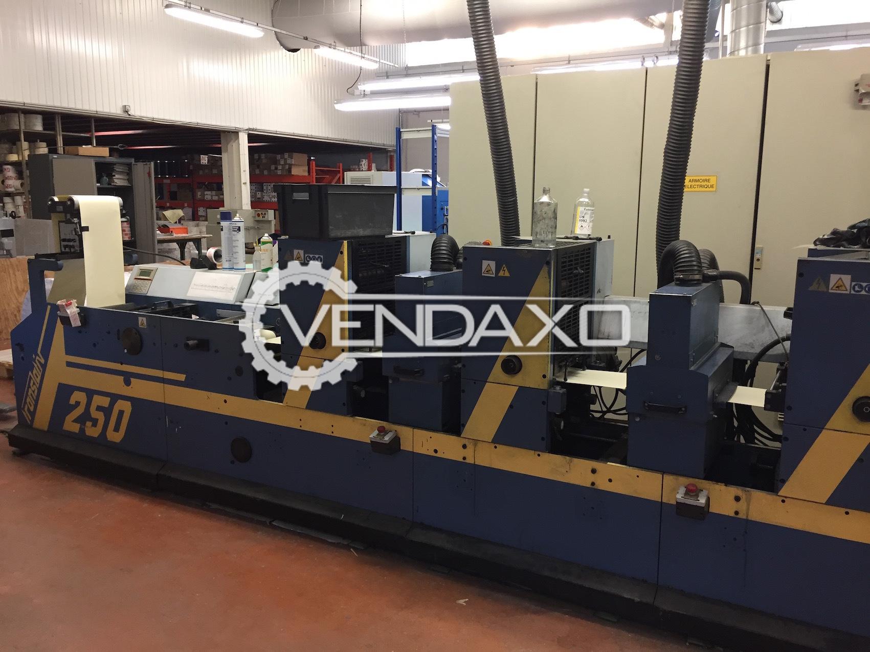 Gallus T250 Label Printing Machine - Print Width - 250 mm
