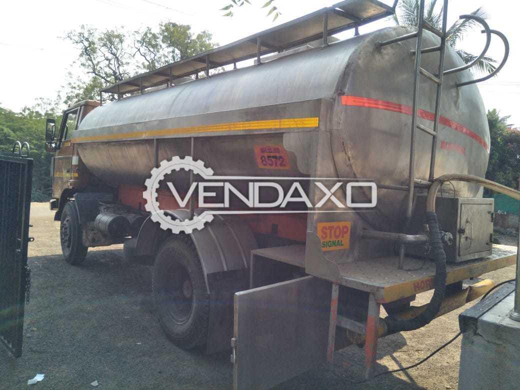 Milk Tanker - 9000 Liter, 2008 Model