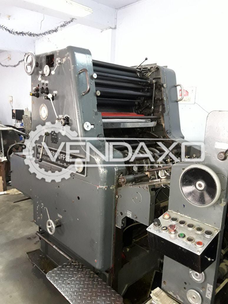 Heidelberg SORK Offset Printing Machine - 19 x 26 Inch, Single Color